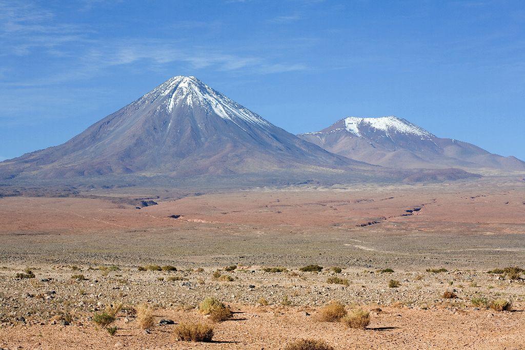 780 Vulkan Lincancabur bei bei San Pedro de Atacama, Chile