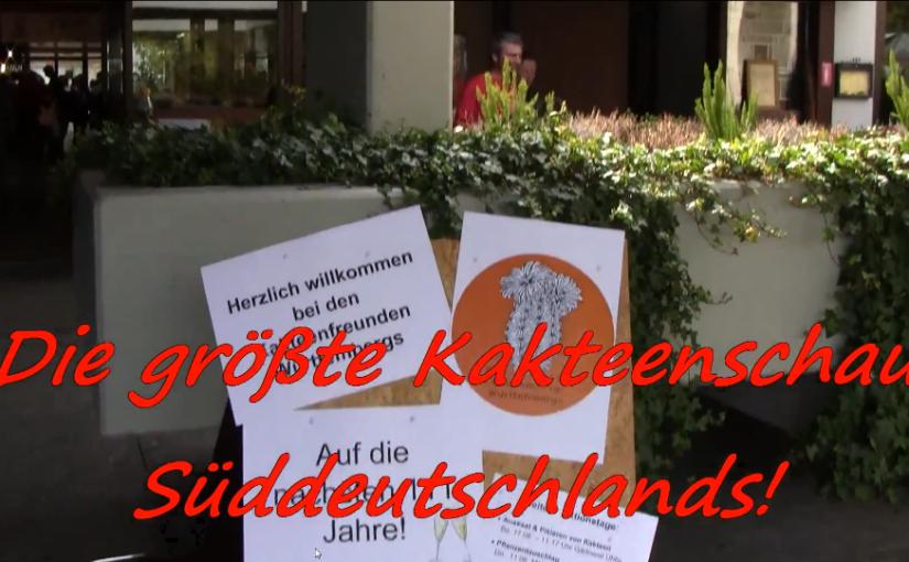 22. Süddeutsche Kakteentage 2015 – Rückschau